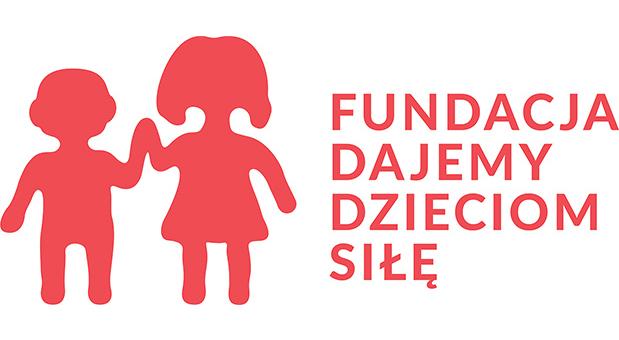 Logo - Fundacja Dajemy Dzieciom Siłę